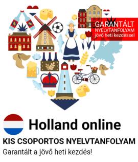 Holland online csoportos tanfolyam
