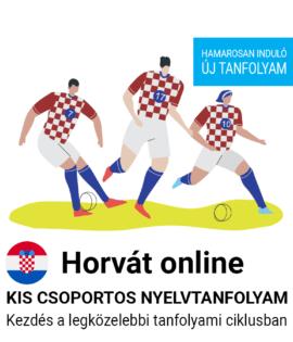 Horvát online csoportos tanfolyam