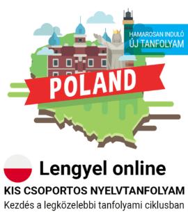 Lengyel online csoportos tanfolyam