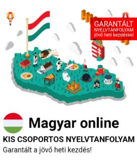 Magyar online garantált csoportos nyelvtanfolyam