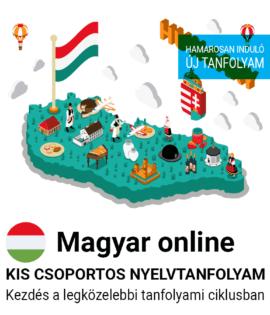Magyar online új csoportos nyelvtanfolyam