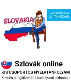 Szlovák online csoportos tanfolyam