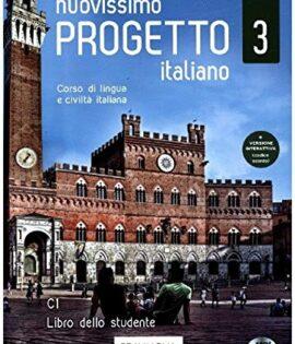 Olasz B2-C1 szint - NUOVISSIMO PROGETTO ITALIANO 3 LIBRO DELLO STUDENTE ( DVD)